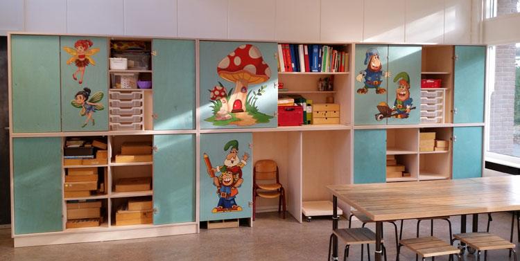 2kick meubelfabriek inrichting multifunctioneel for Meubilair basisschool