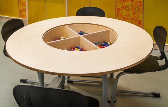 Ronde Lego Tafel.2kick Meubelfabriek Inrichting Multifunctioneel