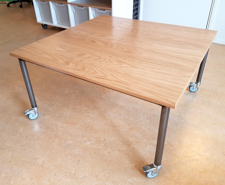 2kick meubelfabriek foto 39 s projecten - Bibliotheek wielen ...
