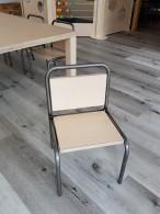 2KICK Kinderstoel Industrie Tafel met Houten Poten op Wielen 3