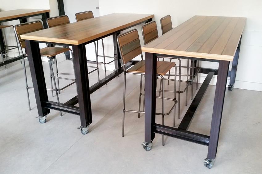 2kick meubelfabriek kantoor en teamruimtes onderwijs - Meubilair zwarte keuken lak ...