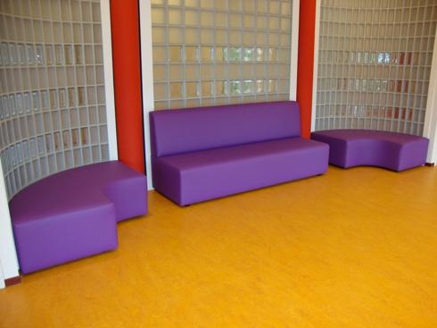 2kick meubelfabriek banken en fauteuils onderwijs for Meubilair basisschool