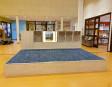 2KICK Podium 285x200x40 cm Met Vloerbedekking Open