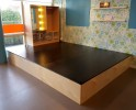 2KICK Podium Hout Zwart Hollywood Theaterkast Web