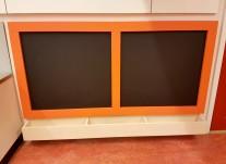 Atelierbord Oranje Web
